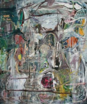 aesthete / mixed media on canvas / / 250x210cm